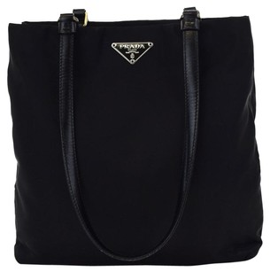 Prada Leather Tote Shoulder Bag