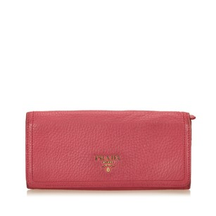 Prada Leather,long Wallets,others,pink,6eprco005