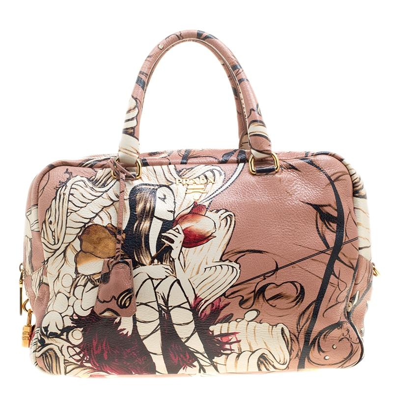 7f5d0f10f1d9 ... x james jean bunny rabbit liberty bauletto bag same style bag as fairy  245ce low price prada tote in pink cc74f 9f811 ...