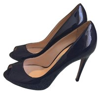 Prada Navy blue Platforms