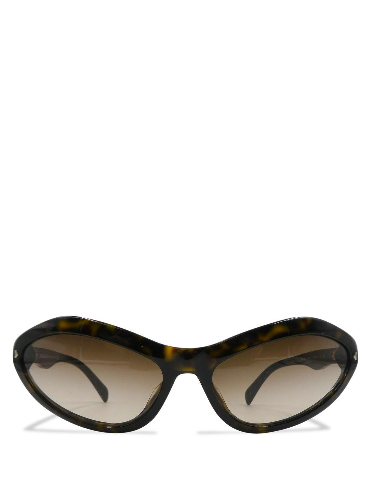 bf633c9faf3ab ... where to buy prada prada brown tortoise shell acetate spr05n cat eye  sunglasses c6070 460af