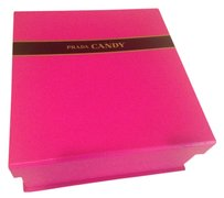 Prada Prada candy pink makeup accessories storage