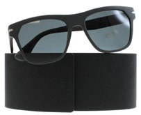 Prada Prada Matte Grey TV4-1A1 55mm Sunglasses