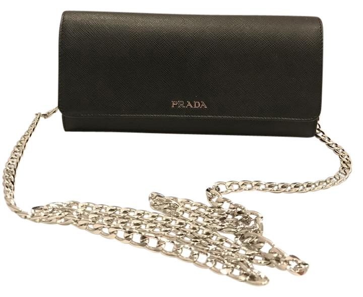 3c32d2eef1e ... cheapest prada saffiano woc wallet chain cross body bag 003d5 92f61