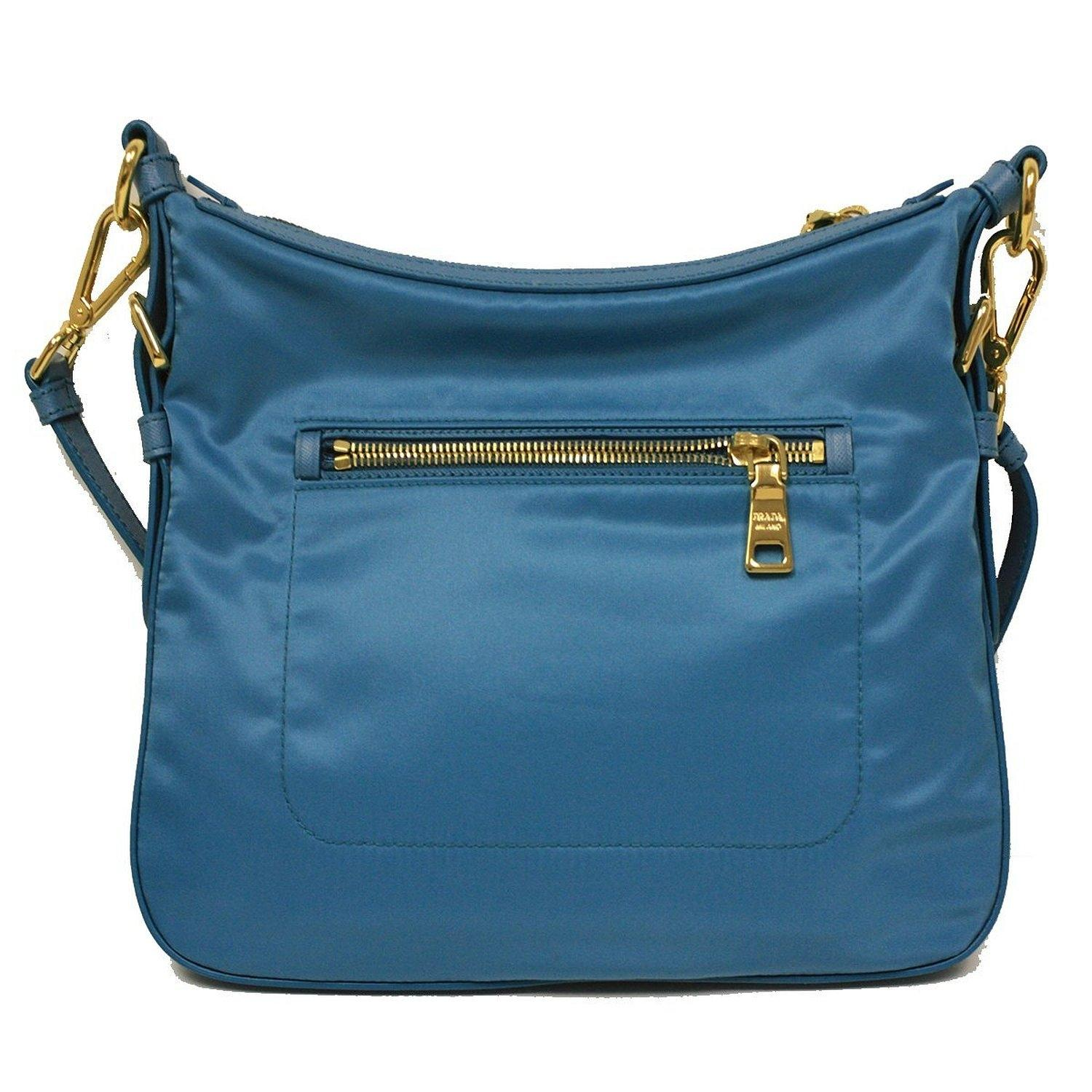 75904af6618a ... switzerland prada tessuto saffian crossbody bt0706 turquoise blue nylon messenger  bag tradesy 5a53a 92948
