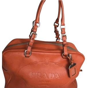 Prada Tote in Orange