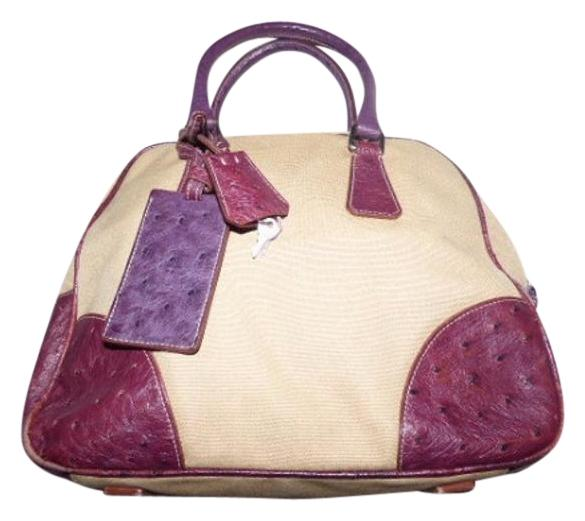 ... official store prada mint vintage high end bohemia bowling bag satchel  has lock key tag accents dd0285cc41bcc