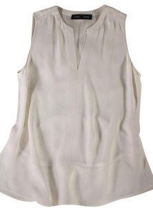 Proenza Schouler Cream Flared Top