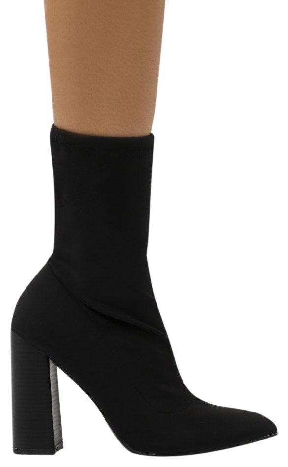 pointed sock boots - Black Prada Cheap Sale Popular Wiki For Sale Cheap Cheap Online Low Shipping Sale Online 03sKeaCFwK