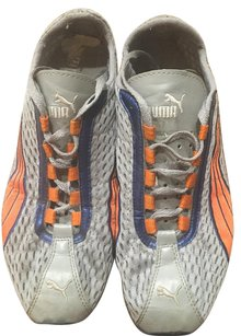 Puma grey, orange and blue Athletic