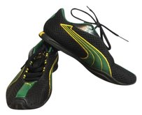 Puma Running Sneakers Yoga Green Yellow Athletic
