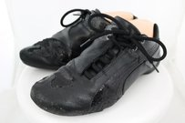 Puma Womens Color Sneaker Casual Lace Up Running Black Athletic