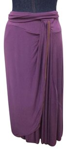 Rachel Pally Stretch Knit Skirt Purple
