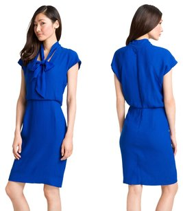 Rachel Roy Bow Cap Sleeve Fitted Office Dress