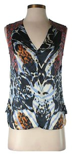 Rachel Roy Silk Print Top