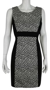 Rachel Zoe Womens Black Gray Dress