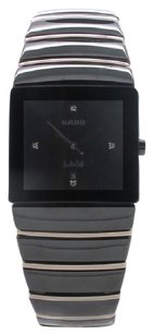Rado Black Ceramic Rado Jubile Sintra 28mm Unisex Watch