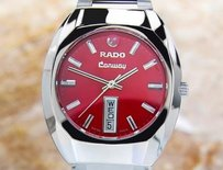 Rado Vintage Rado Conway Mens Stainless Steel Automatic Watch 70s Scx242