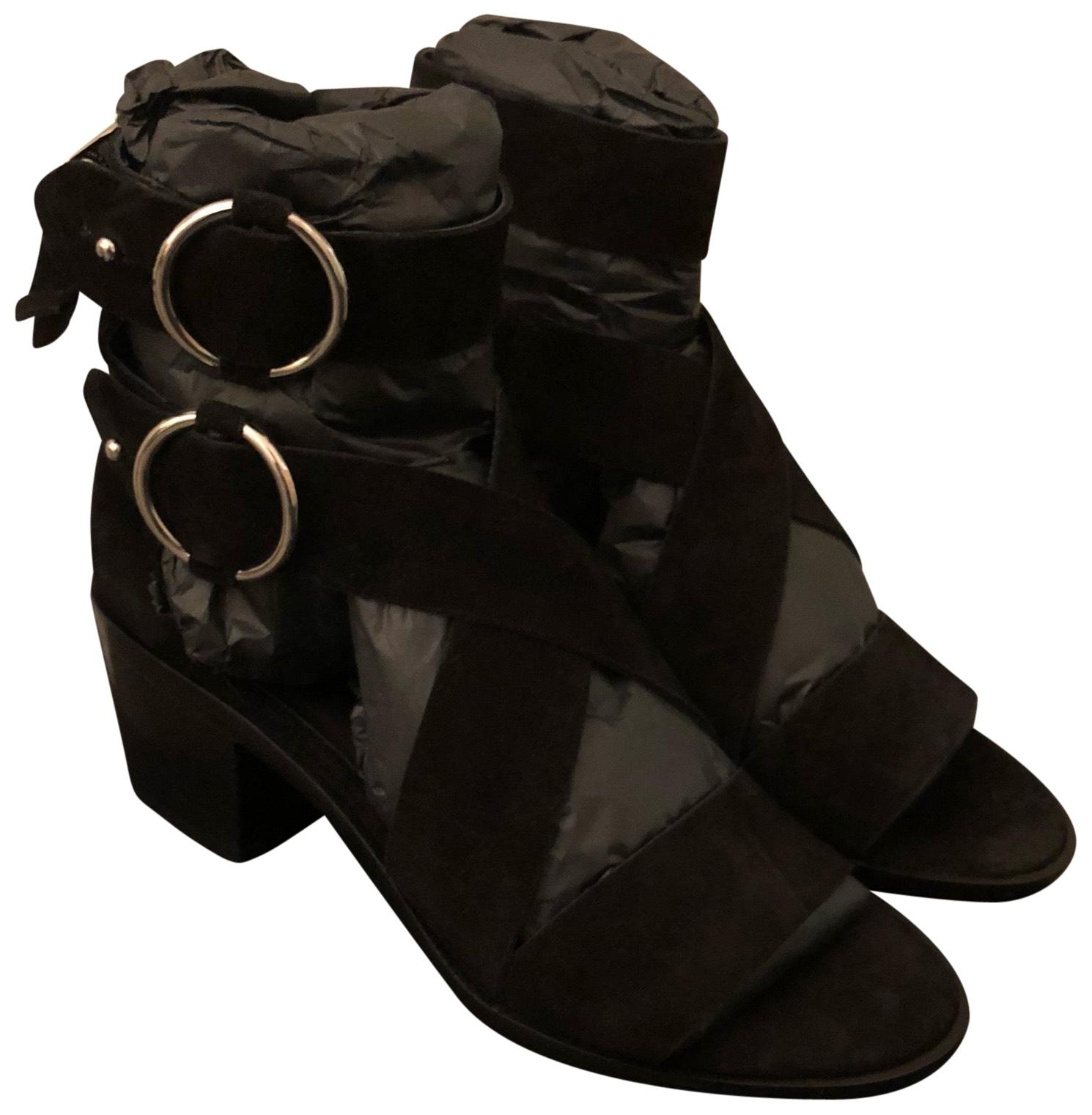 Rag & Bone Black Mari Sandals Size US 6 Regular (M, B ...