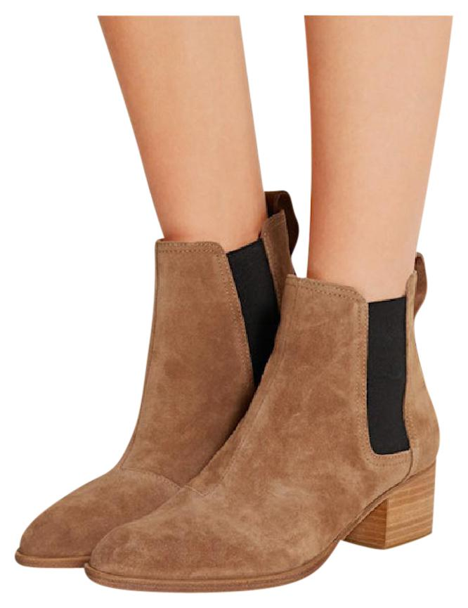 Rag and Bone Rag & Bone Tan Suede & Shearling Walker Boots sXNRR