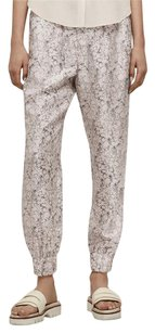 Rag & Bone 400 Alfred Floral Print Silk Twill Jogger Drawstring Dress Pants