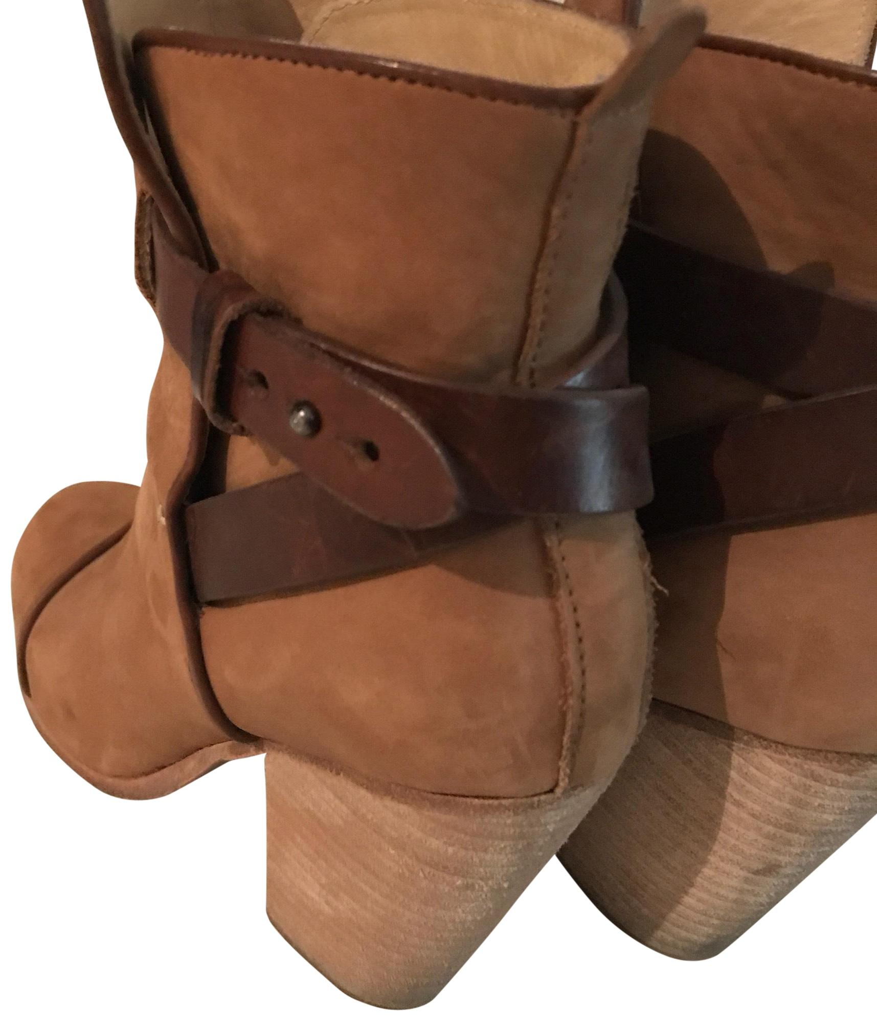 Rag & Bone Light Brown - Kinsey Tan Suede Boots/Booties Size US 7 Regular (M, B)
