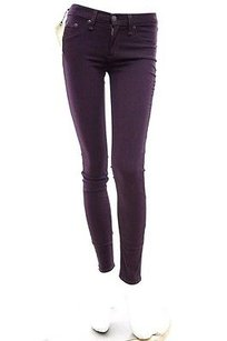 Rag & Bone Purple The Legging Skinny Jeans