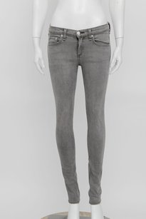 Rag & Bone Jean Grey Low Rise Skinny Jeans