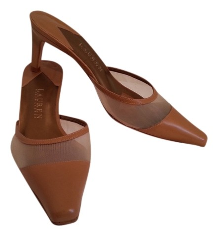 Ralph Lauren Collection Leather Slingback Mules cost for sale free shipping latest collections 3rKphq