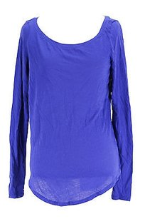 Ralph Lauren Blue Label Womens Cashmere T Shirt blue