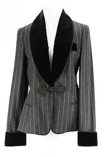 Ralph Lauren Blue Label Ralph Lauren Blue Label Pinstripe Womens Suit Grey Virgin Wool