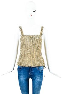 Ralph Lauren Metallic Top Gold