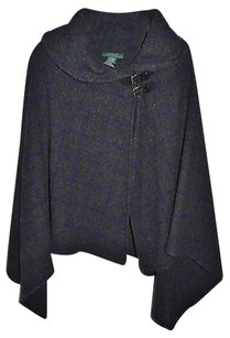 Ralph Lauren Cape Skirt grey plaid