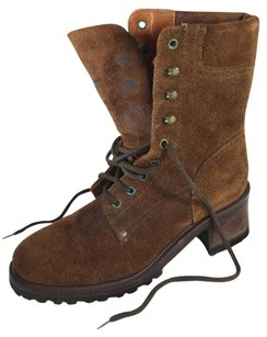 Ralph Lauren Collection Brown Cocoa Lk Boots