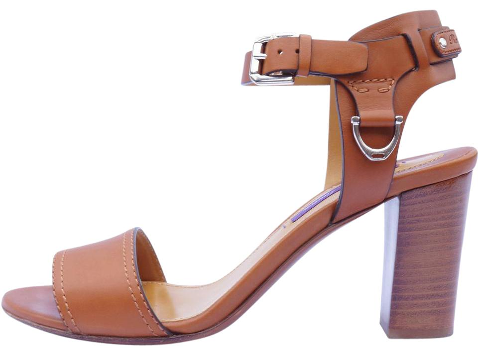 Ralph Lauren Purple Label Leather T-Strap Sandals sale footlocker with paypal sale for cheap official for sale kLMMbN