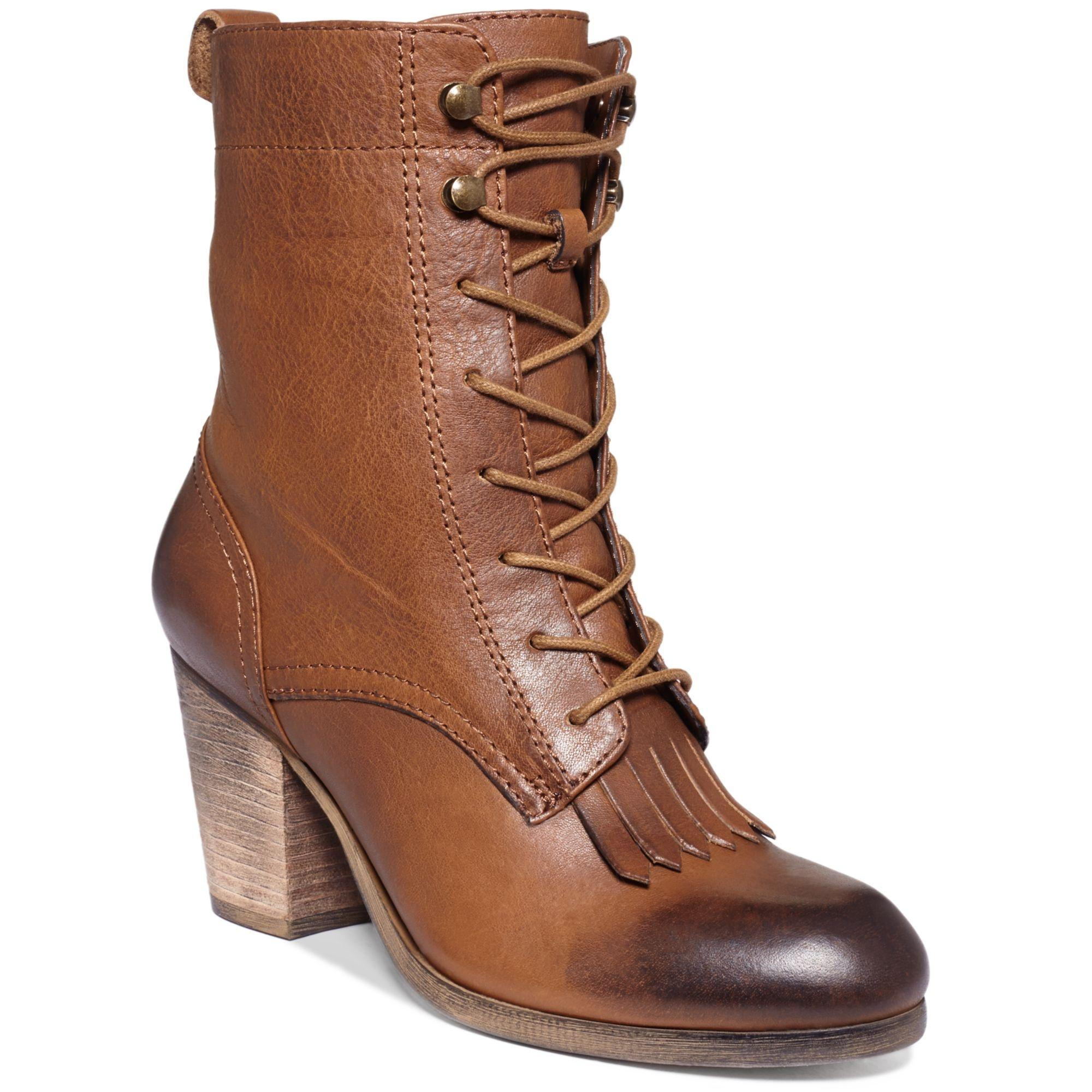 Ralph Lauren Mesa Brown Boots on Sale 17% Off | Boots &amp Booties