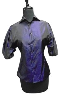 Ralph Lauren N Top Purple And Black
