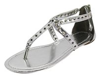 Rampage Good Womens silver Sandals
