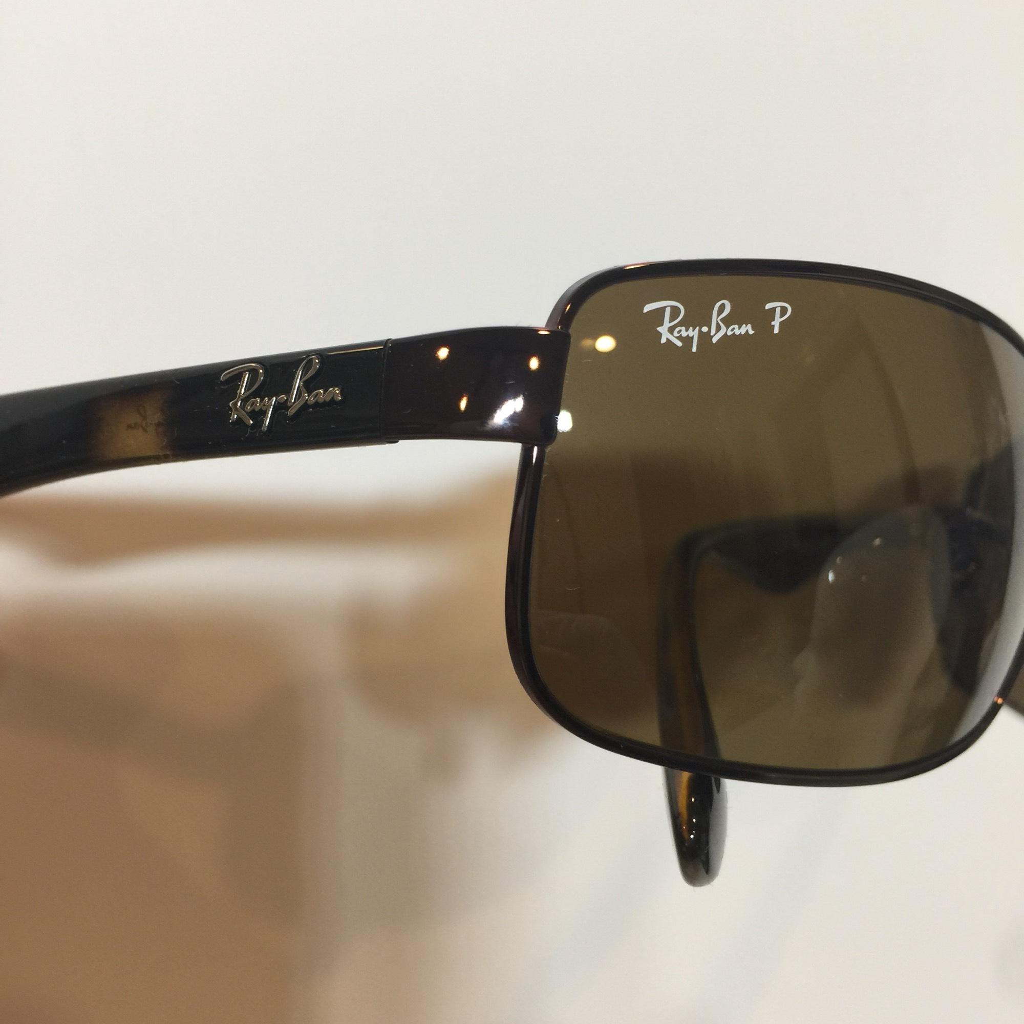 99bf6f63b53 ... discount code for ray ban brown rb 3478 014 57 wraparound metal  polarized 60mm 9335a 6c6db
