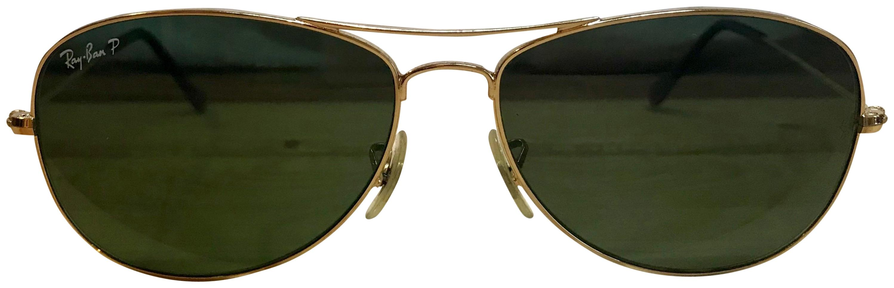 82bfc43119 ... cheap ray ban ray ban cockpit sunglasses gold green polarized rb3362  39b4d d0af2