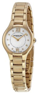 Raymond Weil RAYMOND WEIL Noemia Mother of Pearl Diamond Dial Yellow Gold PVD Steel Ladies Watch 5124-P-00985