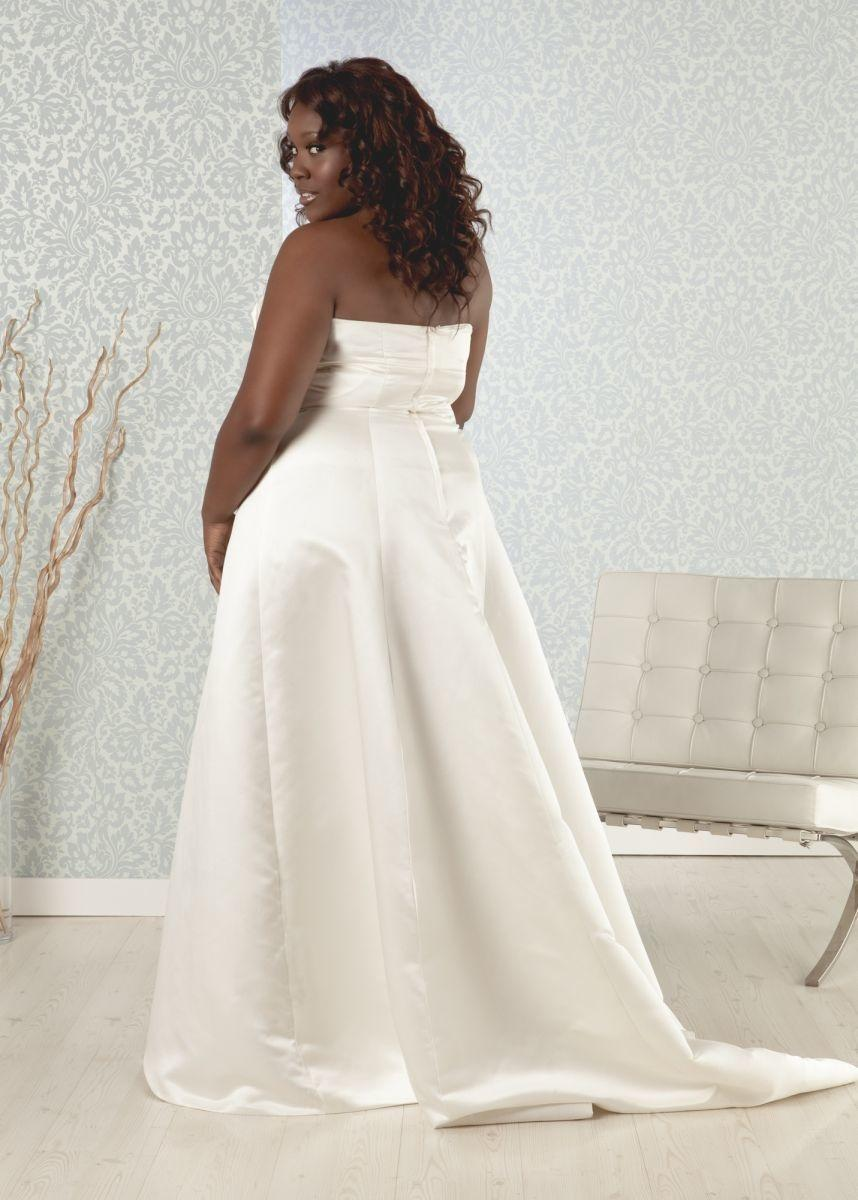 simple ivory wedding dresses real size plus size simple a line ivory 7487