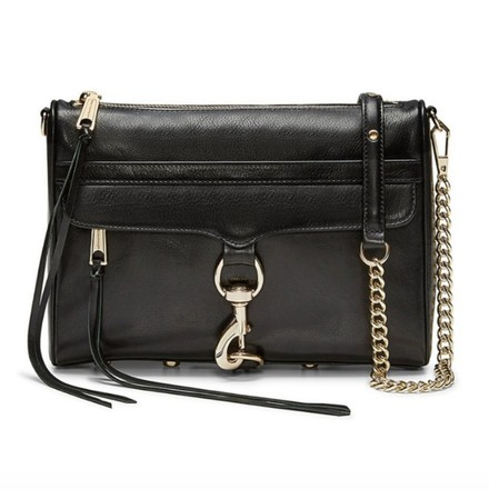 Rebecca Minkoff Mac Minimac Leather Cross Body Bag Image 0