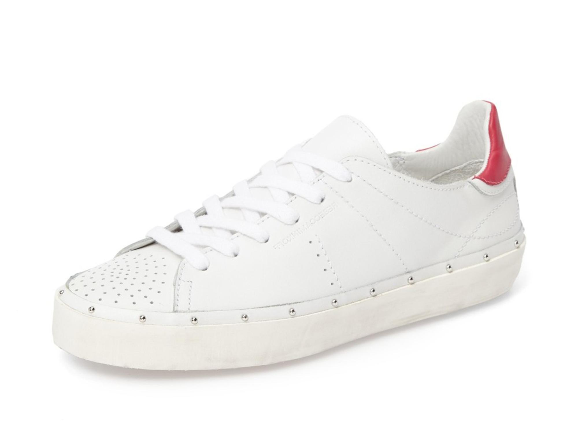 Rebecca Minkoff White Michell Distressed US Sole Studded Sneakers Size US Distressed 9 Regular (M, B) d486e2