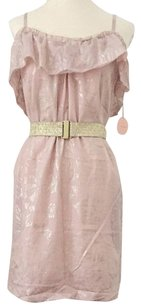 Rebecca Taylor short dress Dusty Rose on Tradesy