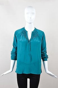 Rebecca Taylor Teal Top Green