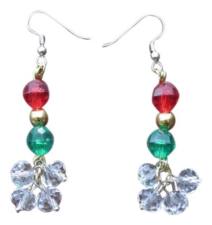 Preload https://item1.tradesy.com/images/red-green-gold-tangle-and-clear-glass-crystals-with-metal-beads-shining-drop-earrings-3071425-0-0.jpg?width=440&height=440