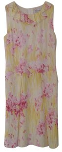 RED Valentino short dress Yellow on Tradesy