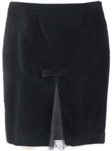 RED Valentino Sneaky Sexy Skirt Black