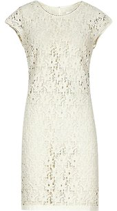 Reiss short dress Ivory White Cream Ciara Swift Lace Shift Sleeveless on Tradesy